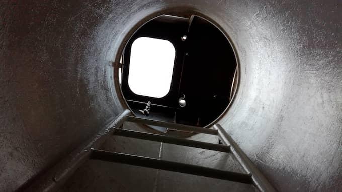 Madsen själv menar att ubåtens torn var så pass trångt, att han behövde stycka Kim Walls kropp för att få upp henne ur farkosten. Foto: Michael Youget
