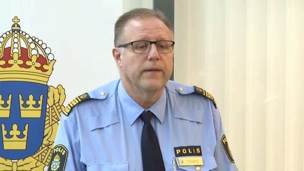 """Polisområdeschefen: """"Han är skjuten med ett flertal skott i kroppen"""""""