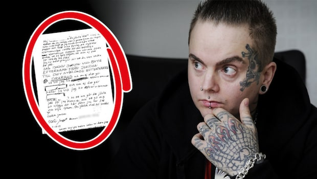 """Här är Skara-kannibalens hotfulla brev: """"Jävla idiot"""""""