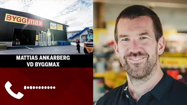 """Byggmax vd: """"Människor fokuserar på att ta hand om sina hem"""""""