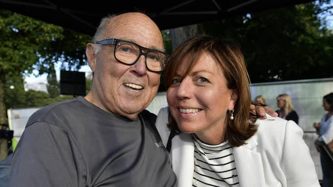 Ingvar Oldsberg och Maria Sandeblad vill gifta sig på Kuba. Foto: /IBL / /IBL