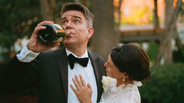 Exklusiva bilder från Ekwalls hemliga bröllop