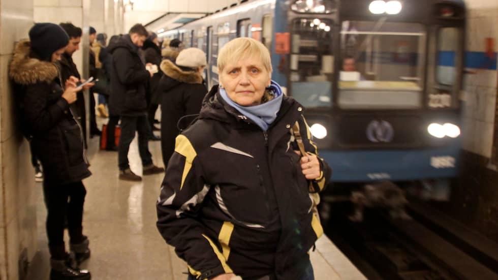 Natalja Kirilova överlevde självmordsbomben i Sankt Petersburg. Foto: Alexander Chizhenok