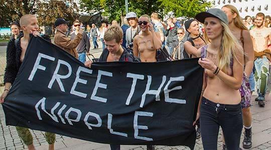 fri fnask bröst i Malmö