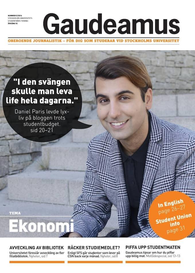 Tidningen Gaudeamus. Foto: Gaudeamus