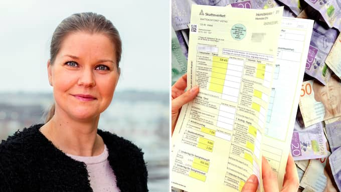 – I år börjar de första utbetalningarna av skatteåterbäringen den 5 och 6 april, säger Anna Sjöberg, verksamhetsutvecklare på Skatteverket.