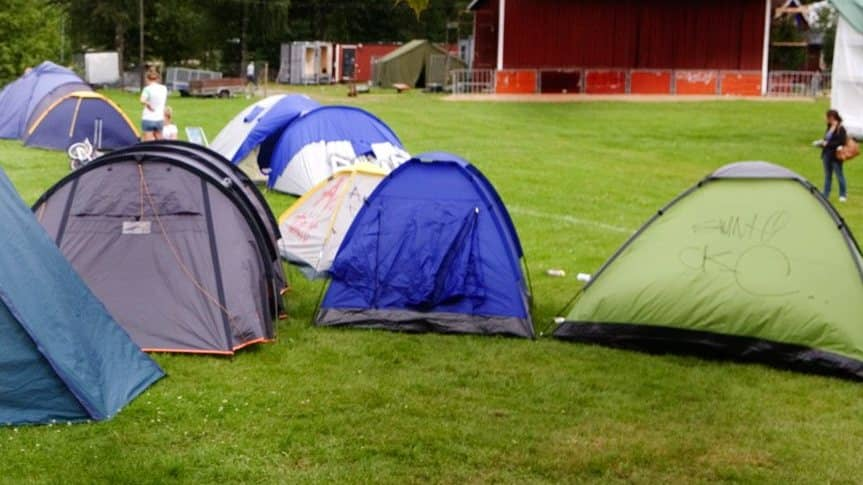 Misstankt valdtakt pa camping