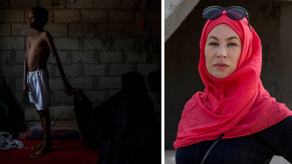 INIFRÅN STÄNGDA LANDET. Expressens Magda Gad har i tre veckor rest runt på båda sidor av fronten i Jemen. Foto: NICLAS HAMMARSTRÖM