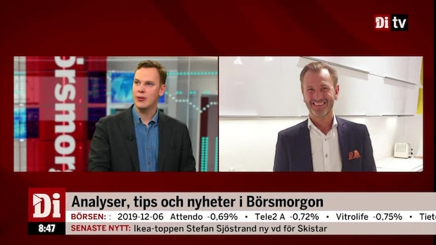 """Stefan Sjöstrand blir ny vd för Skistar:  """"Positiv nyhet för aktieägarna"""""""