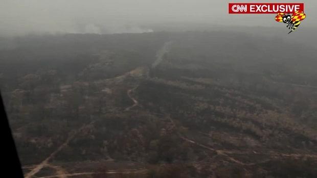 Se förödelsen efter bränderna i Australien
