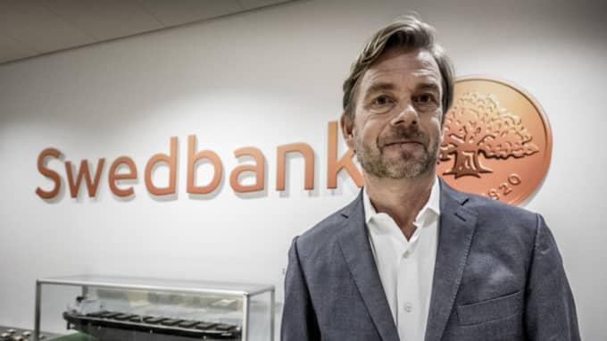 Swedbank polisanmäler sin förre VD Michael Wolf, skriver Dagens industri. Foto: Magnus Hjalmarson Neideman/SvD/TT