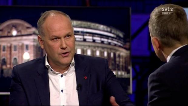Jonas Sjöstedt i Agenda: Kan samarbeta mer med M och KD