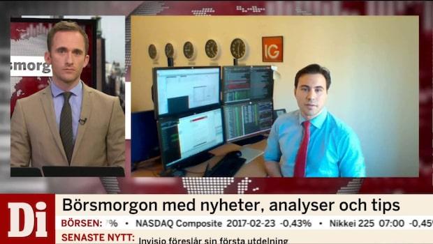 """Hansen: """"USA-börsen oroar"""""""