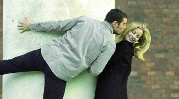 första kyssen med ny kille