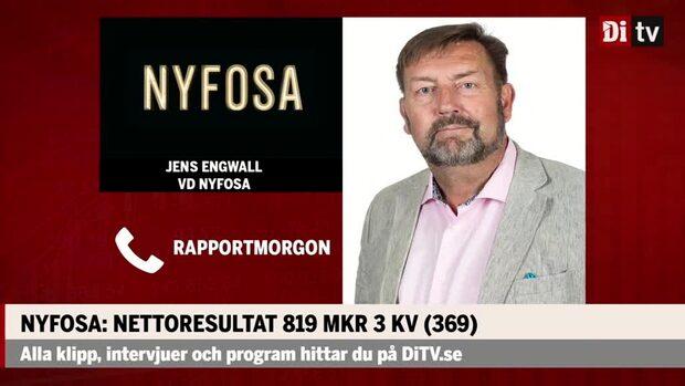 """Jens Engwall vd Nyfosa: """"Oavsett klimat hittar man affärer"""""""