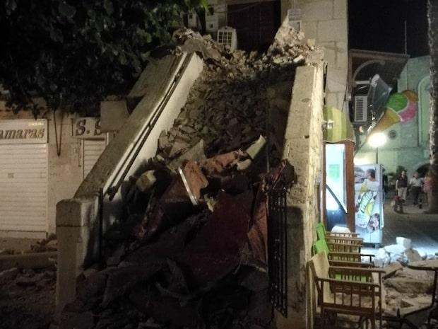 Kraftig jordbävning vid populära turistorter