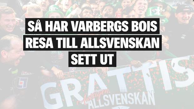 Varbergs BoIS spelar för första gången i Allsvenskan