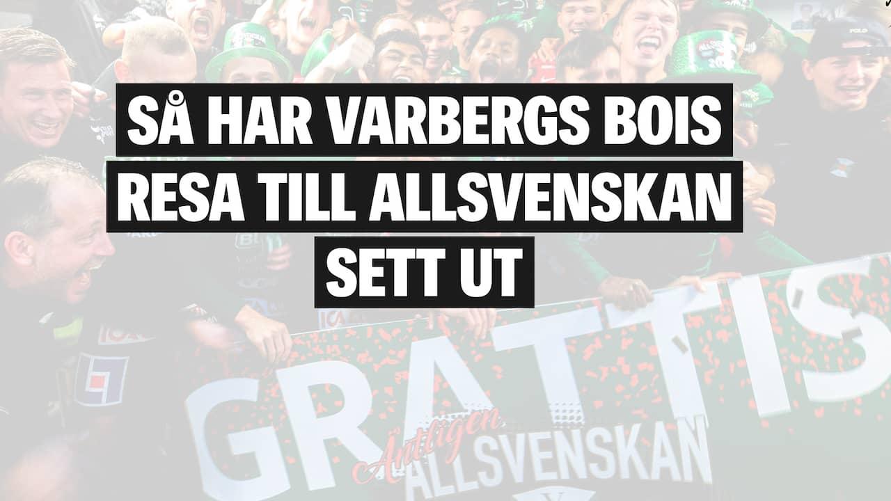 Varbergs Bois Resa Till Allsvenskan
