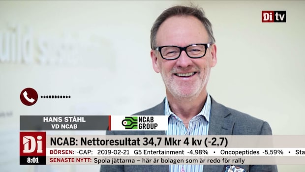 """NCAB:s VD - """"Jag är jättestolt över det här resultatet"""""""