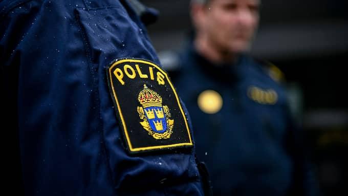 """""""Fullkomligt meningslöst"""", menar polisen i nordvästra Skåne att skadegörelsen var. Foto: ALEX LJUNGDAHL / ALEX LJUNGDAHL EXPRESSEN"""