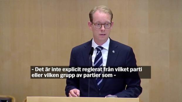 Andreas Norlén ny talman – så gick det till