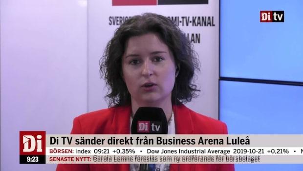 DiTV sänder direkt från Business Arena Luleå