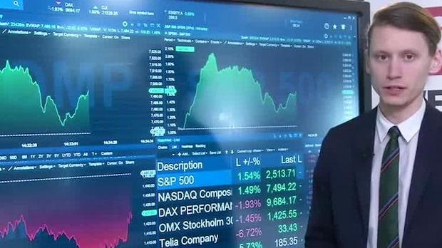 Marknadskoll: USA-börserna över procenten