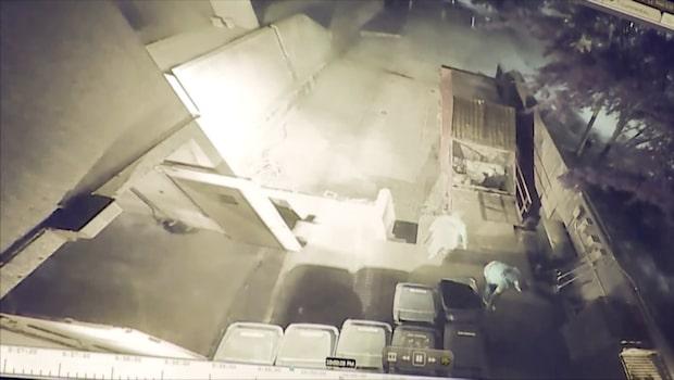 Rymde från fängelset i soptunnor