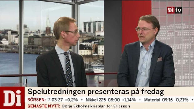 Johan Stein om spelutredningen och skatteförändringar