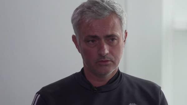 José Mourinho i Viasat. Foto: Viasat
