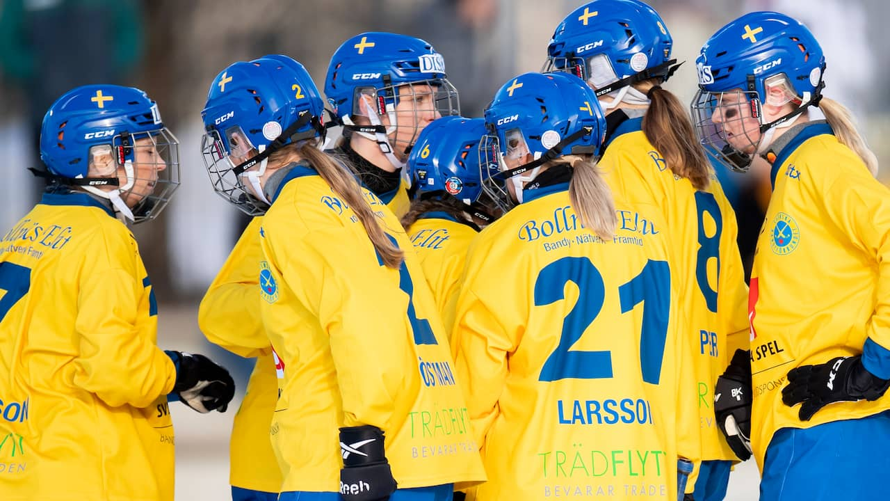 Svenskt VM-guld – finalslog Ryssland