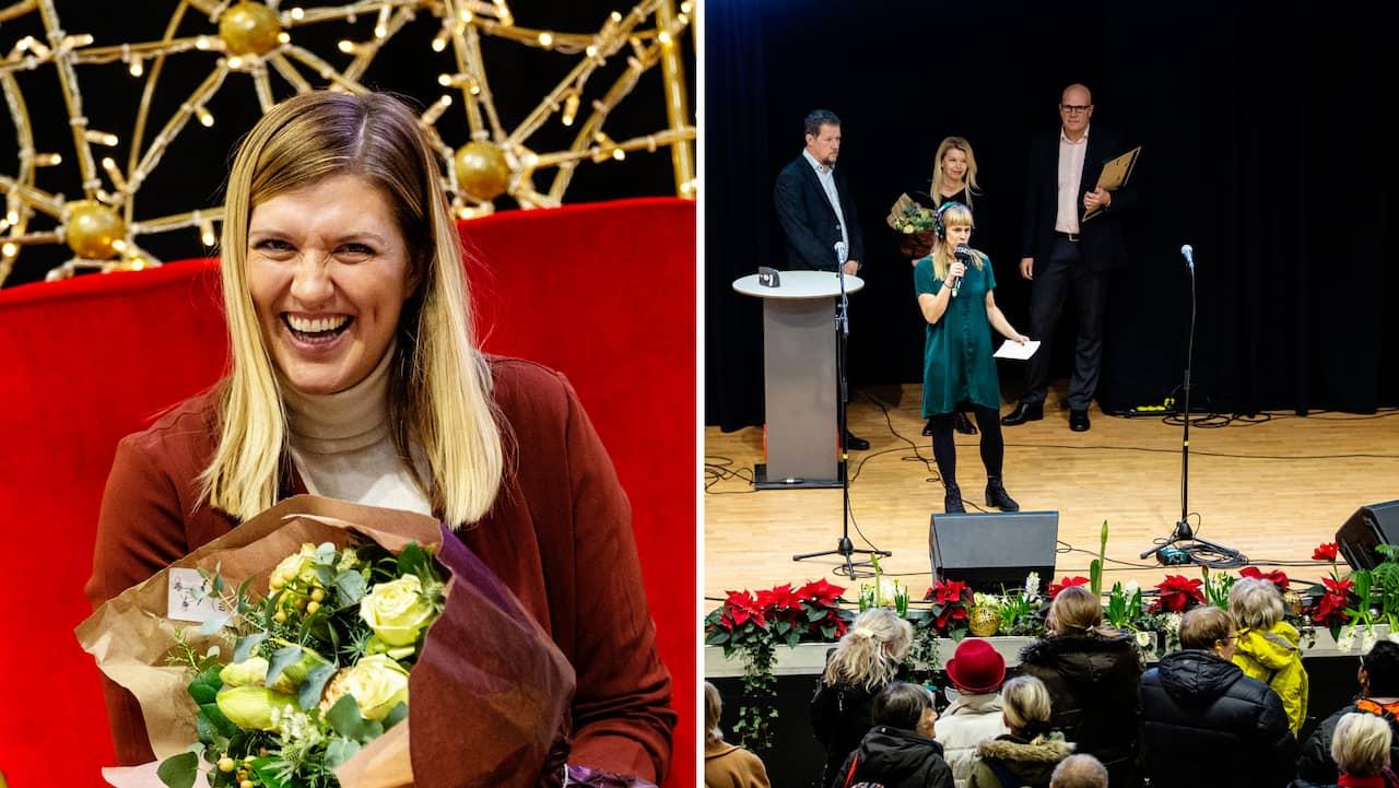 "Beatrice Fihn tog emot pris som ""Årets göteborgare"""