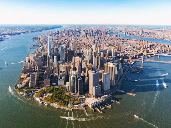 Nedre Manhattan har genomgått en stor förändring de senaste åren.