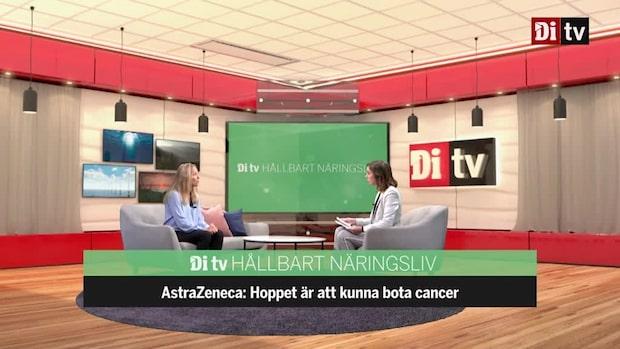 Astra Zenecas Sverige-vd: Vi hoppas kunna bota cancer