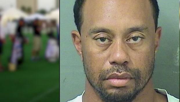 Tiger Woods tagen av polis för rattfylla