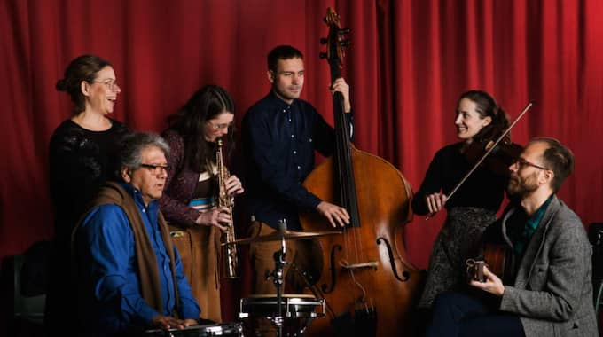 Musikfamiljen. Foto: Viktor Gårdsäter