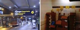 Larmet om matsnusket på Landvetter flygplats