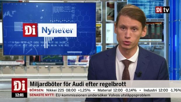 Di Nyheter 12.00 16 okt - Audi får miljardböter efter regelbrott