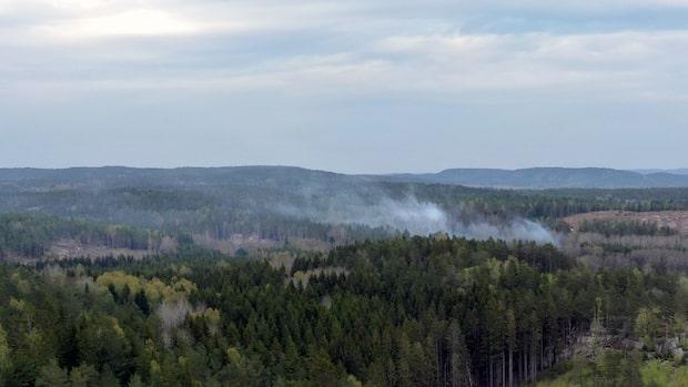 """Branden i Strömstad: """"Läget under kontroll"""""""