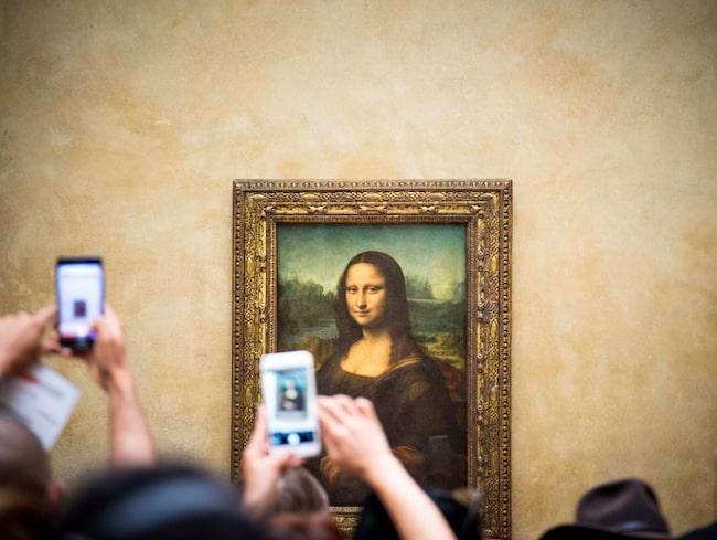 Mona Lisa pryder Louvren sedan 1804 (med några kortare avbrott).