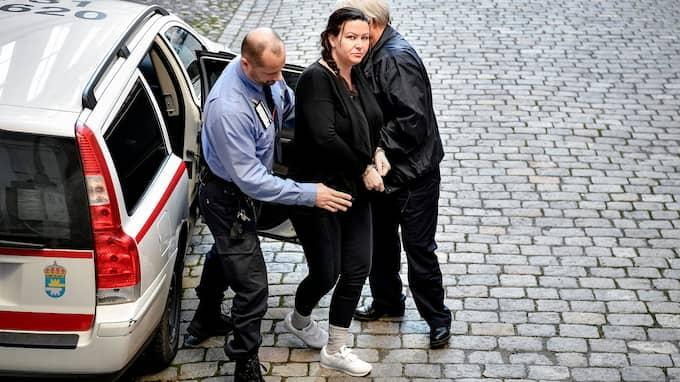 Dag tre i ordningen av hovrättsförhandlingen i Svea Hovrätt där Arbogakvinnan Johanna Möller och hennes expojkvän står åtalade för sammanlagt två mord och ett mordförsök. Foto: ALEX LJUNGDAHL