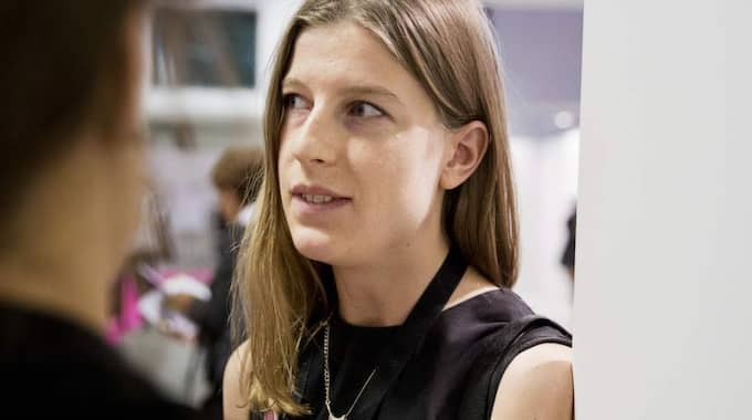 Nu växer oron bland S-kvinnor och mest kritisk är Elinor Odeberg, ordförande för Unga S-kvinnor. Foto: Lisa Mattisson