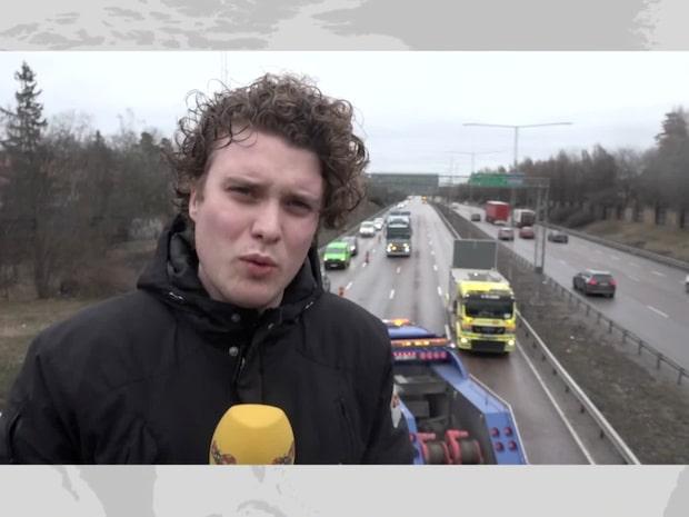 """Dödsolycka på E4: """"Stora förseningar"""""""