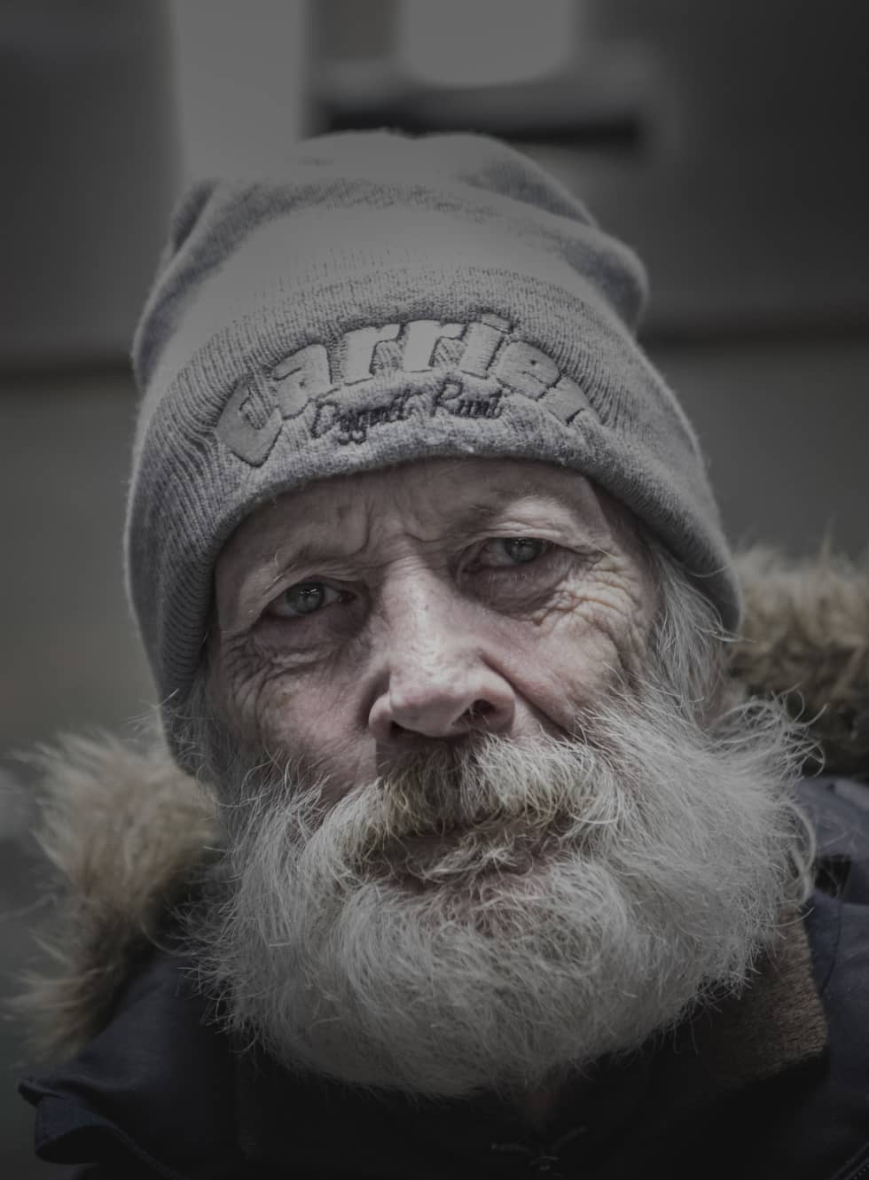 Lasse har varit hemlös i drygt fem år. Han känner sig otrygg. Foto: Michaela Hasanovic