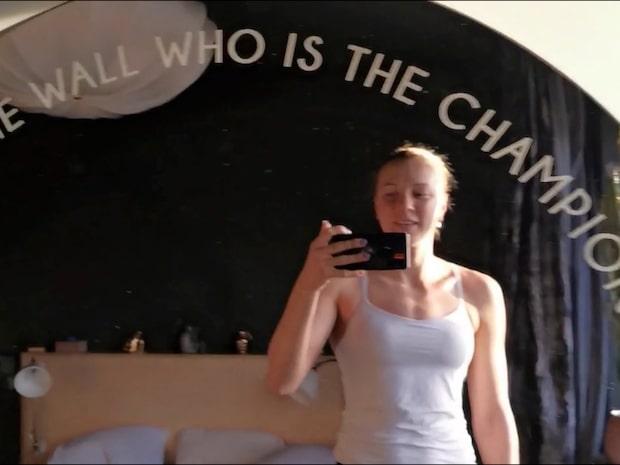"""Sarah Sjöströms kaxiga spegel: """"Ger mig inspiration"""""""