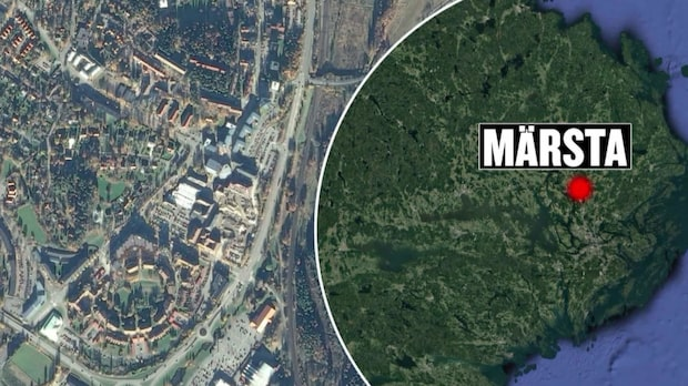 Skottlossning i Märsta – en man hittad skadad