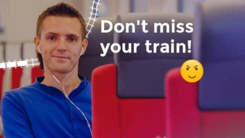 KD:s och M:s grupp i EU kampanjar dagligen för gratis interailkort. Men det tåget bör EU aldrig kliva på. Foto: skärmbild twitter