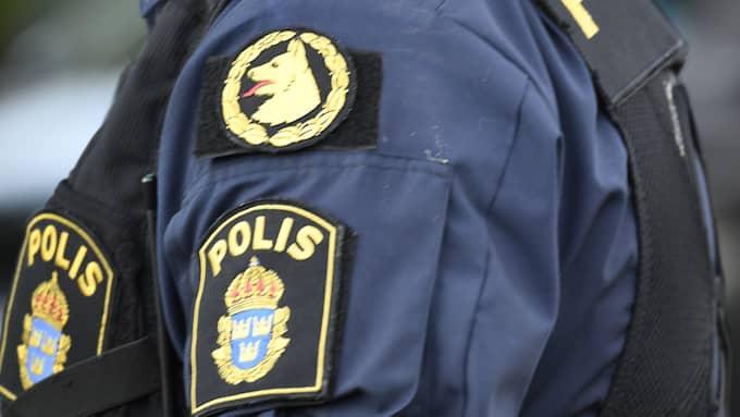 Polisen har inte gripit någon misstänkt ännu. Foto: MAJA SUSLIN/TT