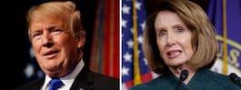 Trumps svar till Pelosi: Din resa är inställd
