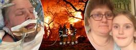 Familjens stora sorg – förlorade allt i branden